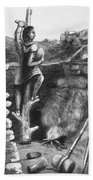 Great Lakes: Ancient Miner Bath Towel