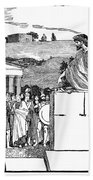 Greek Assembly Bath Towel