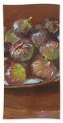 Greek Figs Bath Towel