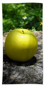 Green Apple Hand Towel