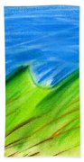 Green Hills Bath Towel