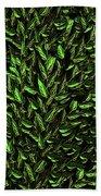 Green Leaf Bath Towel