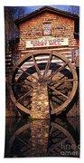Grist Mill In The Smokies Bath Towel