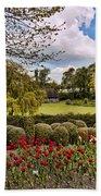Grounds At Leeds Castle  Bath Towel