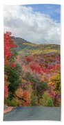 Guardsman Pass To Midway In The Fall - Utah Bath Towel