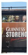 Guinness Storehouse Dublin - Ireland Bath Towel