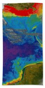 Gulf Of Mexico Dead Zone Hand Towel