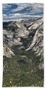 Half Dome Valley Bath Towel