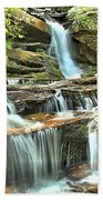 Hanging Rock Cascades Bath Towel
