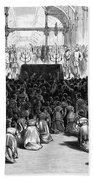 Hannukah Celebration, 1880 Bath Towel