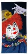 Happy Clown Bath Towel