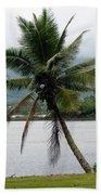Hawaiian Palm Bath Towel