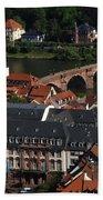 Heidelberg Germany Bath Towel