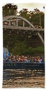 Hellgate Jet Boat And Caveman Bridge Bath Towel