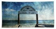 Henderson Beach State Park Florida Hand Towel
