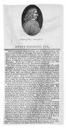 Henry Fielding (1707-1754) Bath Towel