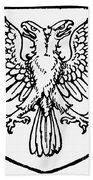Heraldry: Birds Bath Towel