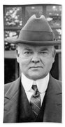 Herbert Hoover - President Of The United States Of America - C 1924 Bath Towel