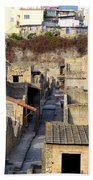 Herculaneum Ruins Bath Towel