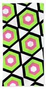 Hexagon Bath Towel