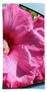 Hibiscus Bath Towel