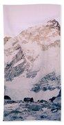 Himalayas In Nepal Bath Towel