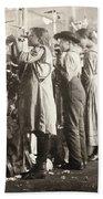 Hine: Child Labor, 1910 Bath Towel