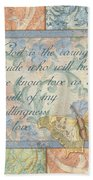 Hint Of Spring Butterfly 1 Bath Towel