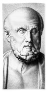 Hippocrates, Greek Physician, Father Bath Towel