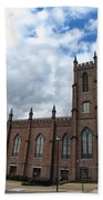 Historical 1st Presbyterian Church - Gates Avenue Se Huntsville Alabama Usa - Circa 1818 Bath Towel