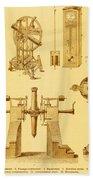Historical Astronomy Instruments Bath Towel
