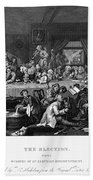 Hogarth: Election Bath Towel