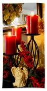 Holiday Candles Hcp Bath Towel