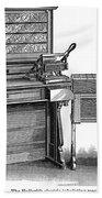 Hollerith Tabulator, 1890 Bath Towel
