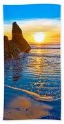 Honda Cove Sunset Bath Towel