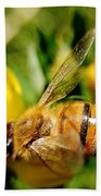 Honey Bee Bath Towel