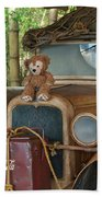 Hood Ornament Disney Bear Bath Towel