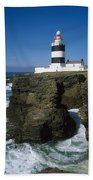 Hook Head Lighthouse, Co Wexford Bath Towel