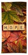 Hope-autumn Bath Towel