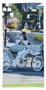 Horse And Buggy Bath Towel