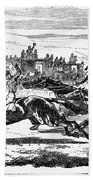 Horse Racing, 1857 Bath Towel