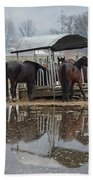 Horses Bath Towel