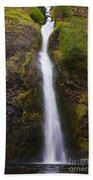 Horsetail Falls Oregon Bath Towel