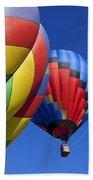 Hot Air Ballons Bath Towel