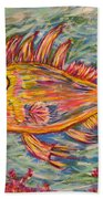 Hot Lips The Fish Bath Towel