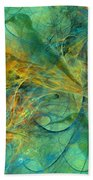 Hummingbirds Bath Towel