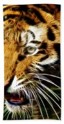 Hungry Tiger Bath Towel