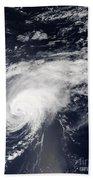 Hurricane Gordon Over The Atlantic Bath Towel