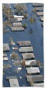 Hurricane Katrina Damage Bath Towel