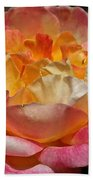 Hybrid Tea Rose Bath Towel